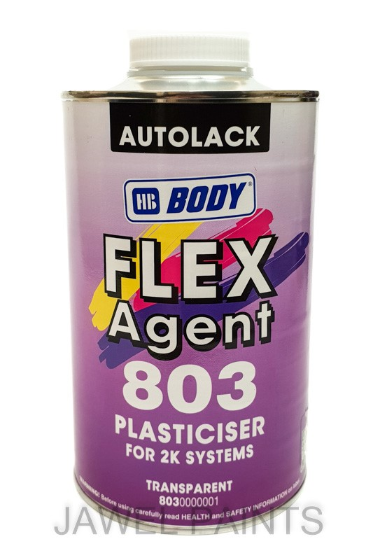 HB Body 803 Flex Agent, Clear Plasticiser For 2k Systems 1LT
